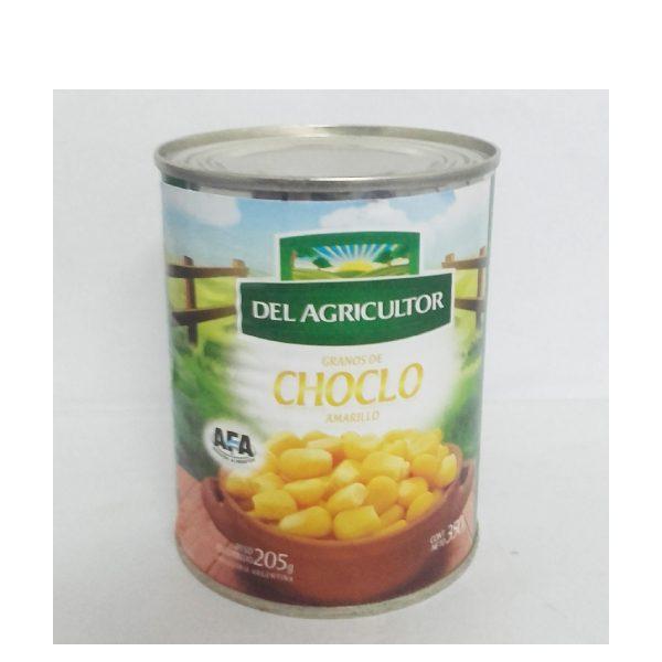 choclo amarillo en lata