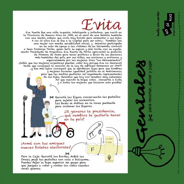Promo Evita Geniales 2
